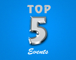 Top 5 Events