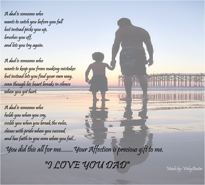 Father's Day ecard by Vishyaustin