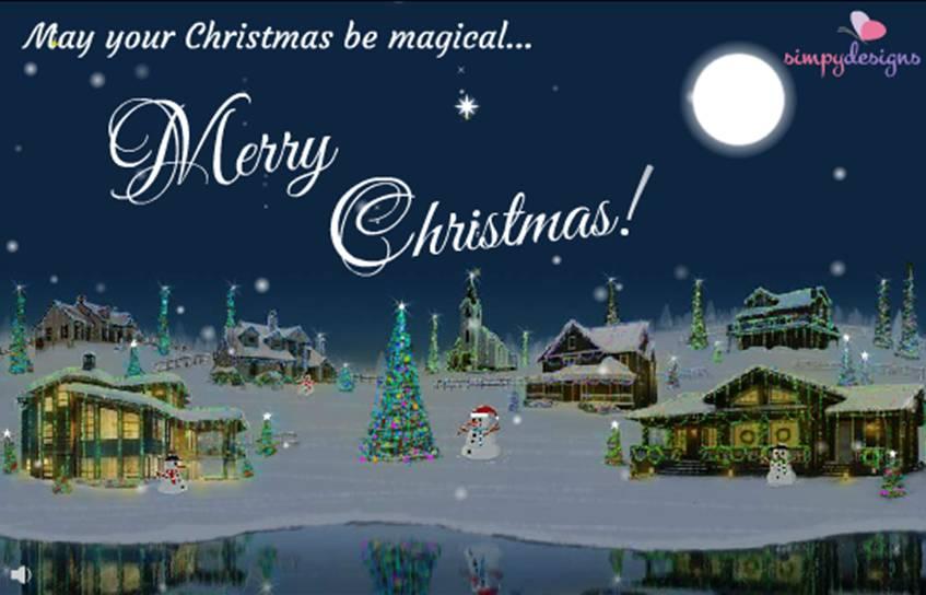 Christmas ecard by Simpydesigns