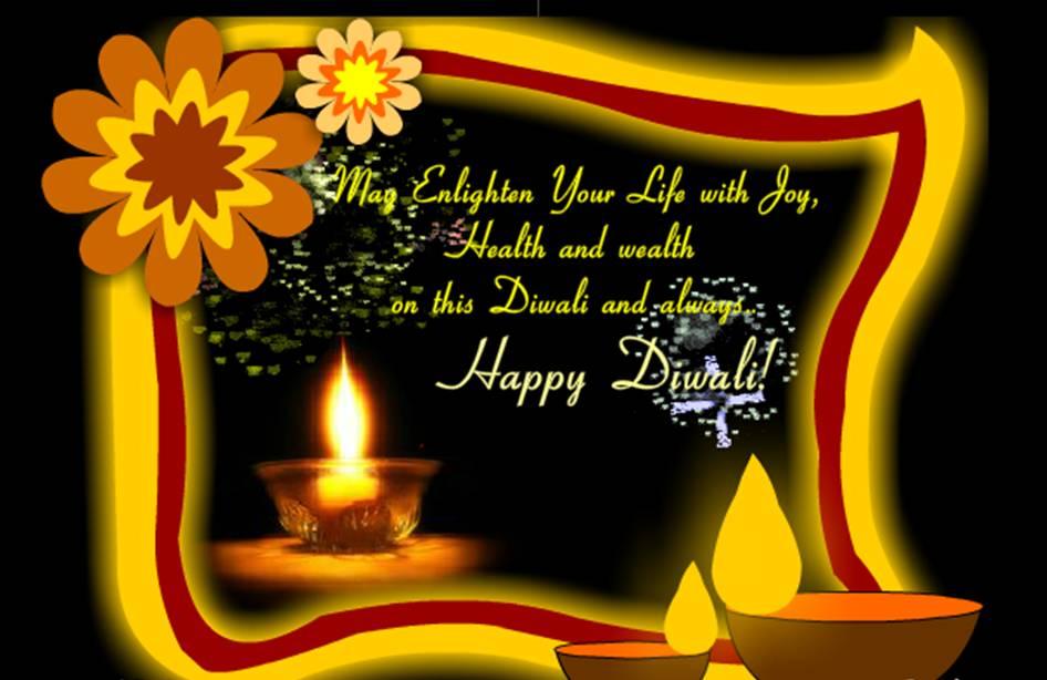 Diwali Diyas ecard by Jothi