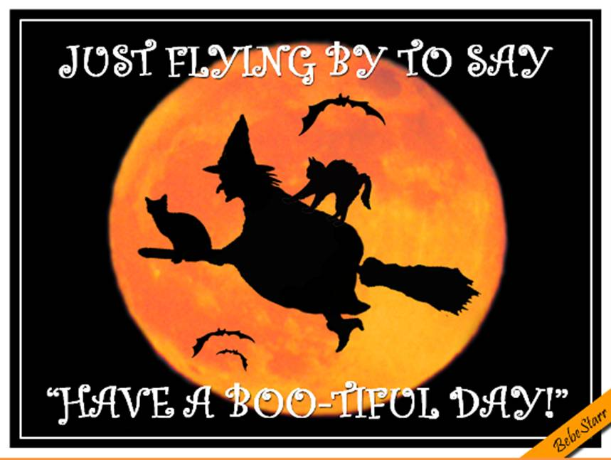 Halloween, Witches Ecard by Bebestarr