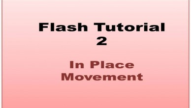 Flash Tutorial - In Place Animation
