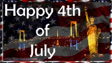 Concepts for 4th of July ecards